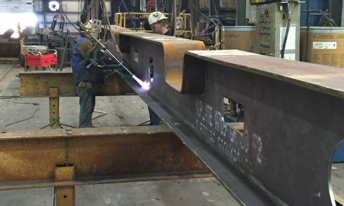 Steel Fabrication Page - Top Photo